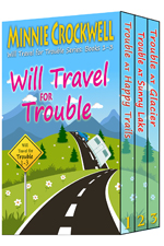 Will Travel for Trouble boxed set books 1-3-- Minnie Crockwell
